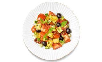 Панцанелла с вялеными томатами