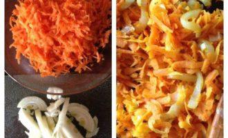 Плов с сухофруктами, апельсинами и копченой корейкой