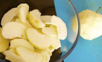 Итальянский яблочный пирог с грецкими орехами