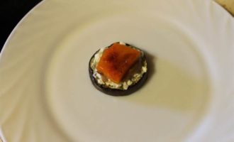 Мильфей из овощей и сыра