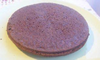 Шоколадный чизкейк с малиной