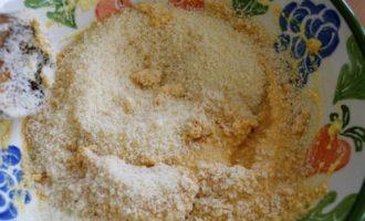 Закусочной пирог с рикоттой и соусом песто