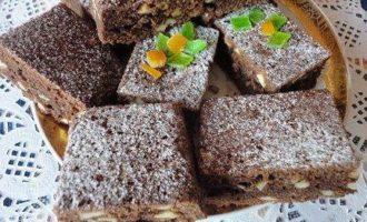 Пирожные с орехами кешью