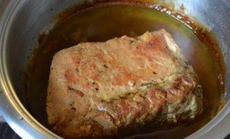 Свинина в сливочном масле