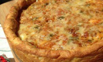 Пицца по-чикагски в глубокой форме
