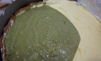 """Торт """"Банан с зеленым чаем"""""""