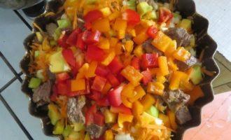 Запеканка с мясом и тыквой