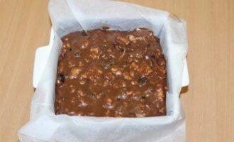 Шоколадный фадж с клюквой и фундуком