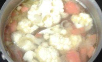 Овощной суп-пюре с грибами