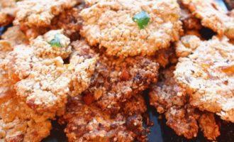 Орехово-овсяное печенье, а-ля гранола