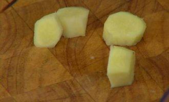 Треска с кокосовым карри-соусом